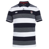 England Rugby Textured Polo Shirt