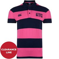 Rugby World Cup Hooped Polo Shirt