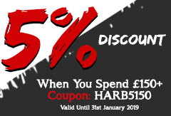 Harbury Rugby 5 Percent Discount