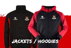 Harbury Rugby Club supporters jackets and hoodies