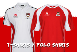Harbury Rugby T-Shirts and Polo Shirts from Scorpion Sports